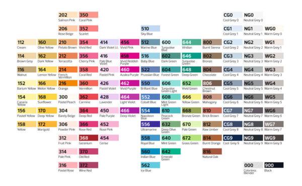 Stylefile markers 120 stuks