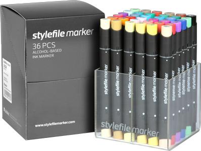 Stylefile markers 36 stuks