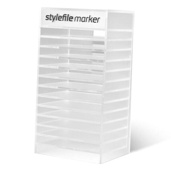 Display stylefile marker netjes bewaren 120 markers